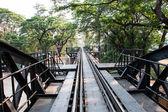 The bridge over River Kwai — Stock Photo