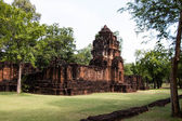 Old castle in Kanchanaburi Thailand — Stock Photo