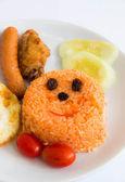 American fried rice — Stock Photo