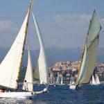 regata de yates clásicos — Foto de Stock