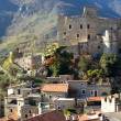 Castelvecchio di Rocca. Ancient village of Italy - Stock Photo