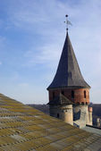 Tower of medieval fortress — Stock Photo