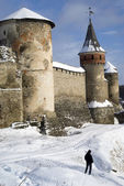 The medieval fortress of Kamyanets-Podilsky, Ukraine — Stock Photo