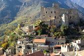Castelvecchio di Rocca. Ancient village of Italy — Stock Photo