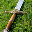 Medieval sword — Stock Photo