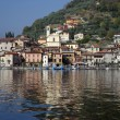 Town of Peschiera, Iseo lake, Italy — Stock Photo #18675669