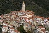 Castelvittorio. Ancient village of Italy — Stock Photo