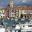 Stock Photo: Fishing port of ImperiOneglia, Italy