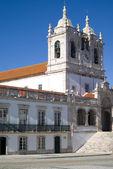 церковь леди назаре, португалия — Стоковое фото