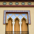 Spanish decorative window — Stock Photo