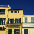 Colors of Mediterranean architecture — Stock Photo