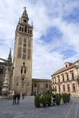 The Giralda tower. Seville, Spain — Stock Photo