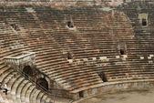 Roman arena seating — Stock Photo
