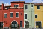 The ancient italian architecture — Stock Photo
