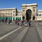 Milan, Vittorio Emanuele II gallery — Stock Photo #18703161