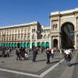Milan, Vittorio Emanuele II gallery — Stock Photo