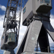 Stock Photo: Old cargo crane
