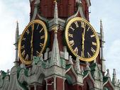 Kremlin-Chiming clock — Stock Photo