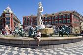 Fountain of Nice, France — Stock Photo