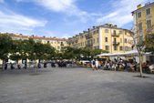 Place Garibaldi in Nice, France — Stock Photo