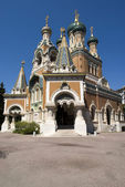 Russian Church in Nice, France — Stock Photo