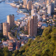 Monaco in the sunrise light — 图库照片