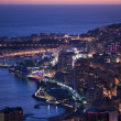 Enchanting Monegasque dusk — Stock Photo