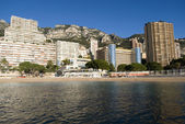 Monte Carlo skyscrapers — Stock Photo