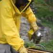 beekeeper working — Stock Photo