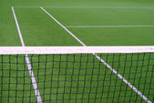 Tennisnetz — Stockfoto