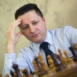 Mplaying chess — Stock Photo #18865251