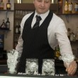 Stock Photo: Barman