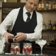 Barman — Stock Photo