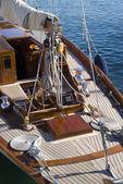 Sailboat details — Stock Photo