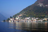 Town of Peschiera, Iseo lake, Italy — Stock Photo