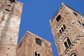Medieval towers of Albenga — Stock Photo