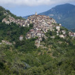 Apricale. Ancient village of Italy — Stock Photo
