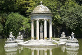 Park of Villa Pallavicini in Genoa — Stock Photo