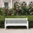 Garden bench — Stock Photo #28979085