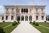 Front view of the Villa Ephrussi de Rothschild — Stock Photo