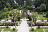 Garden in Villa Ephrussi de Rothschild — Stock Photo