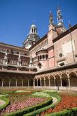 Certosa di Pavia. Italian monastery — Stock Photo
