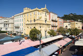 Cours Saleya, Nice, France — Foto Stock
