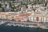The harbour of Nice — Stock Photo