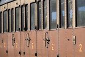 Eisenbahnwagen — Stockfoto