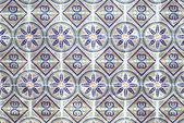 Portuguese azulejos, old tiled background — Stock Photo