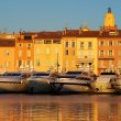 Saint Tropez in evening light — Stock Photo #38154347