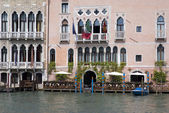 Buildings on the Grand Canal in Venice — Stock Photo