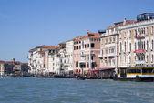 O grande canal de Veneza — Fotografia Stock