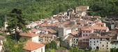 Borgomaro. antiga aldeia na região de ligúria, itália — Foto Stock
